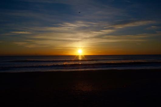 Boso Long Beach Kujyukuri Sunrise 九十九里浜の日の出