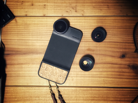 Moment Lens with iPhone6s Case