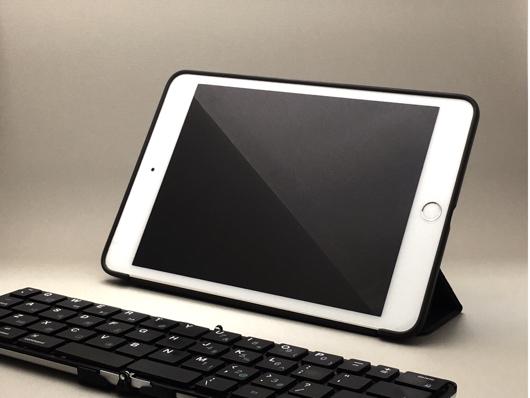 iPad mini 4 + Bookey Pocket Keyboard