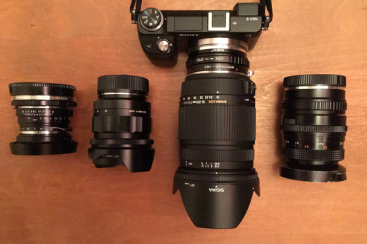 Sony NEX-6 + Sigma 18-250 F3.5-6.3
