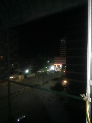 ハラレのホテルの部屋からの眺め