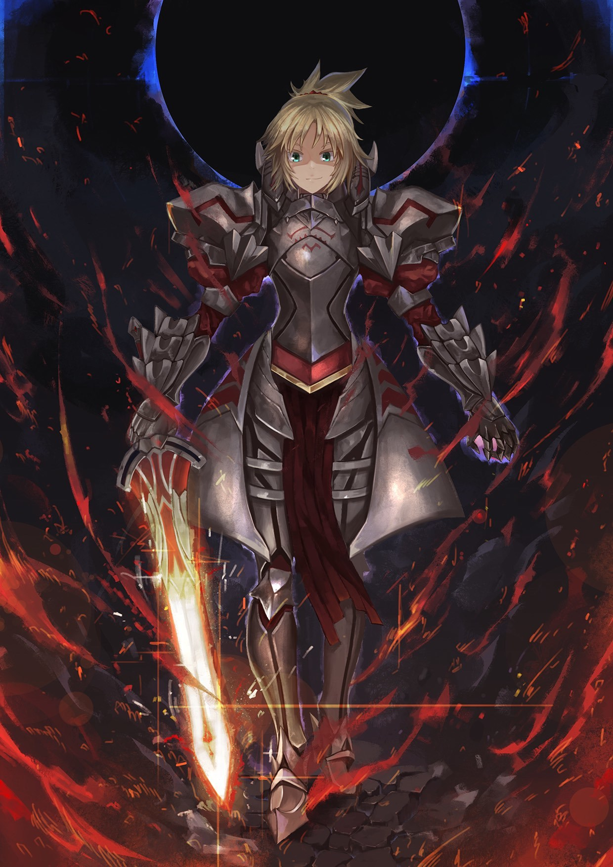 Fate/Apocrypha  モードレッド Mordred No.5151