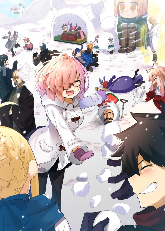 Fate/GrandOrder マシュ・キリエライト Matthew Kyrie Light No.5159