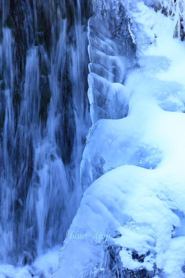 凍てつく冬景色