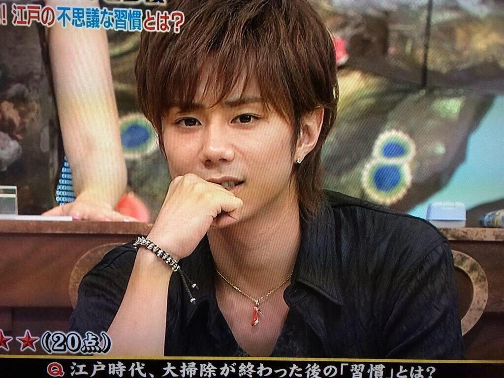 【画像】キスマイ・北山宏光のネックレスは元ジャニーズJr.藤家和依がデザインしたものだった!