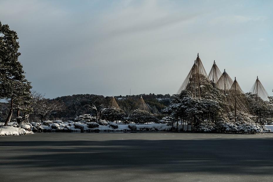 2018.01.31 兼六園の雪景色 1