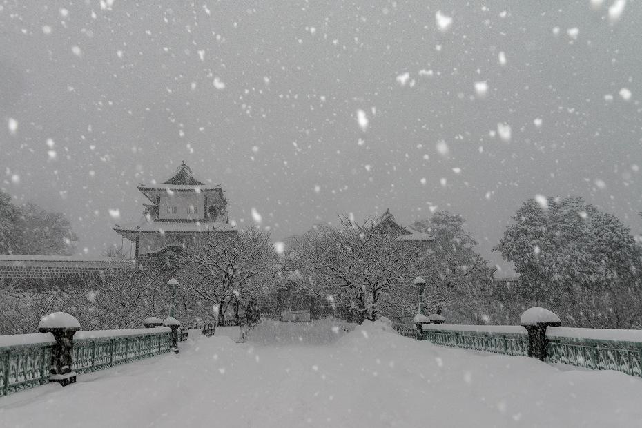 2018.02.05 金沢城の雪景色 1