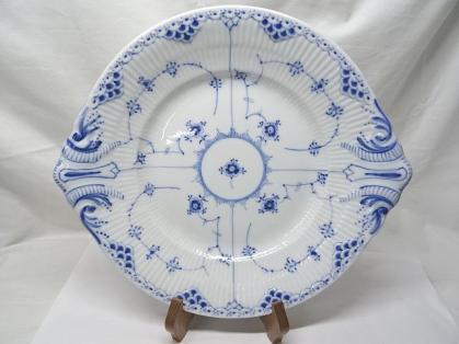 ロイヤルコペンハーゲン★ ブルーフルーテッド プレイン BBプレート 大皿