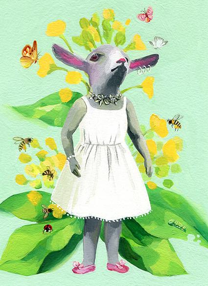 山羊とミツバチ
