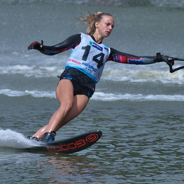 Anna Cespivova (CZE) 2016WUC Final Slalom 3rd Place