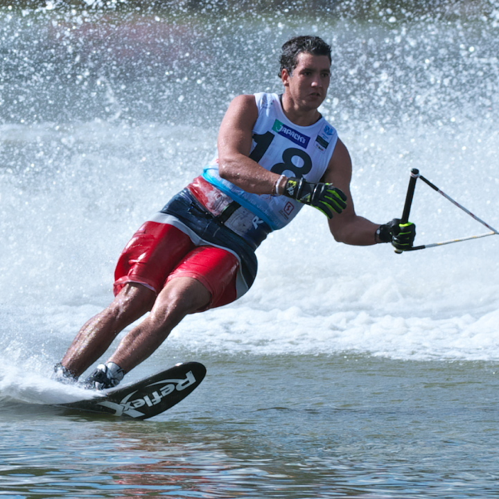 Robert Pigozzi (DOM) 2016WUC Final Slalom 2nd Place