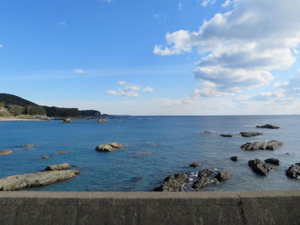 太平洋(江住駅付近)