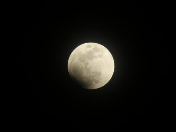 皆既月食0