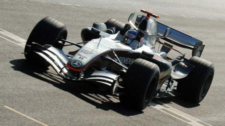 F1マシンの重量