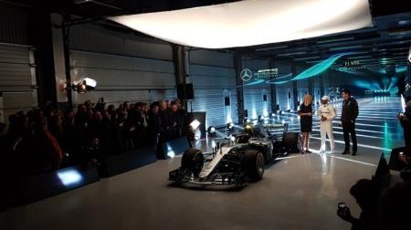 「メルセデスAMG F1 W09 EQ Power+」公開