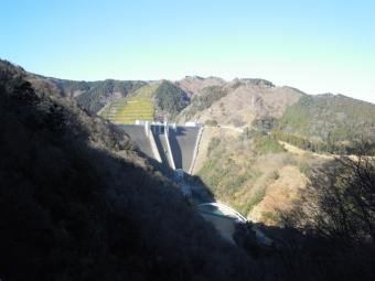 宮ケ瀬ダム180102