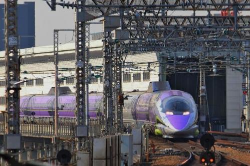 大阪のエヴァ新幹線