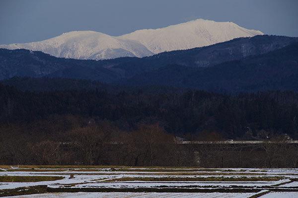 東和町安俵から早池峰