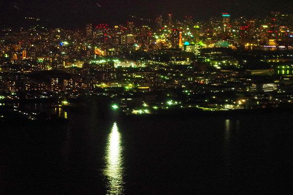 和田岬と神戸の夜景