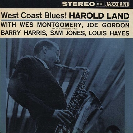 Harold Land West Coast Blues! Jazzland JLP 920S