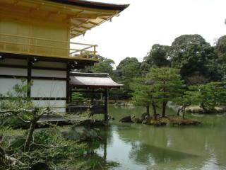 金閣寺庭園