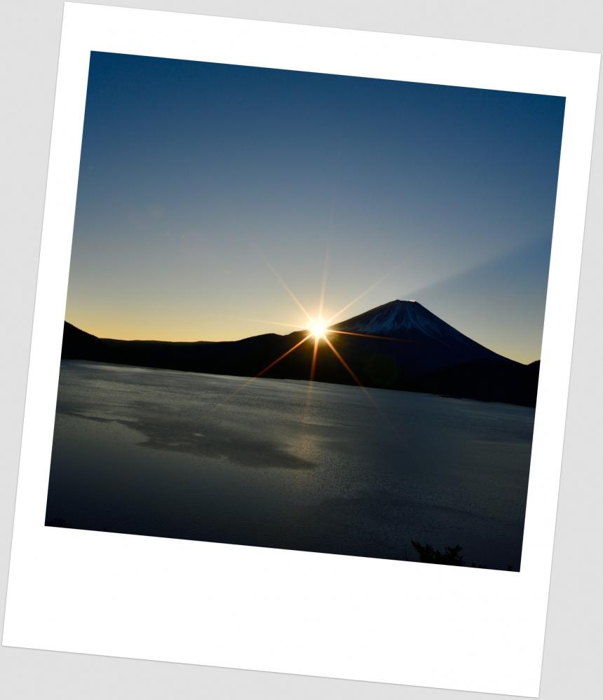 本栖湖 朝景  (9)ポㇻS