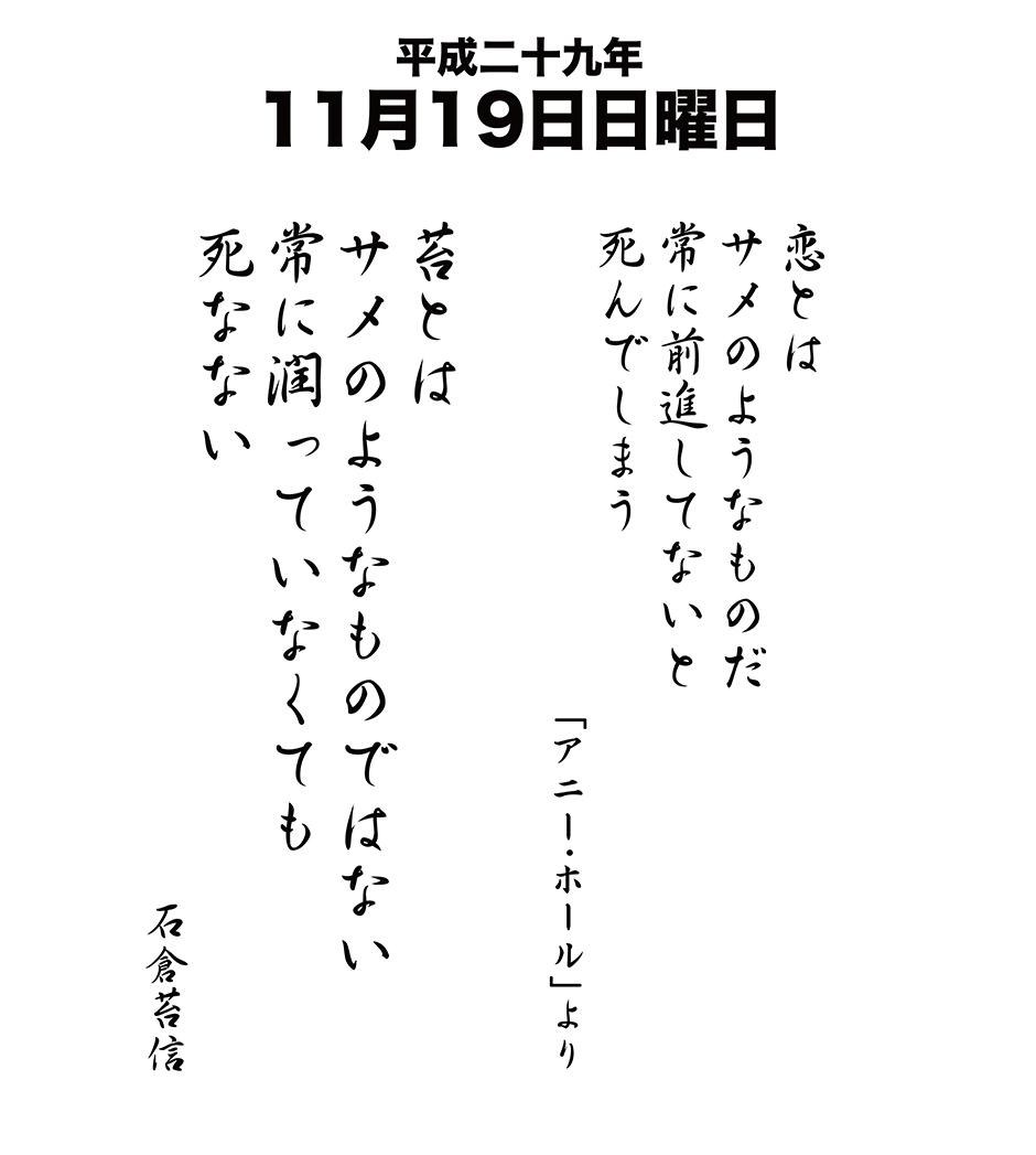 平成29年11月19日
