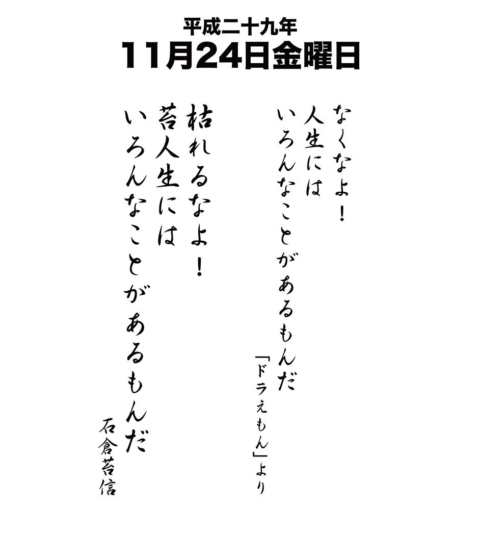 平成29年11月24日