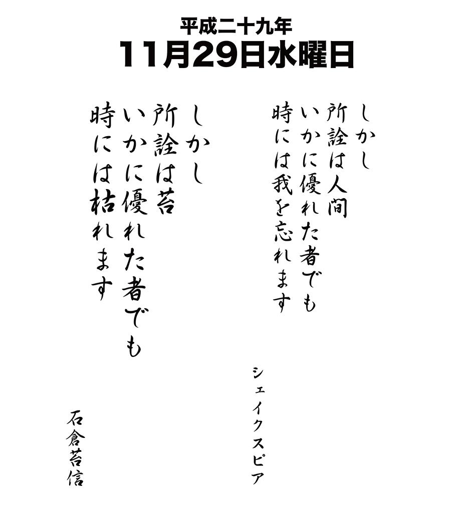 平成29年11月29日