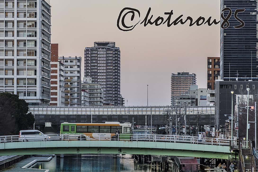 運河のある街のお正月2 20180103