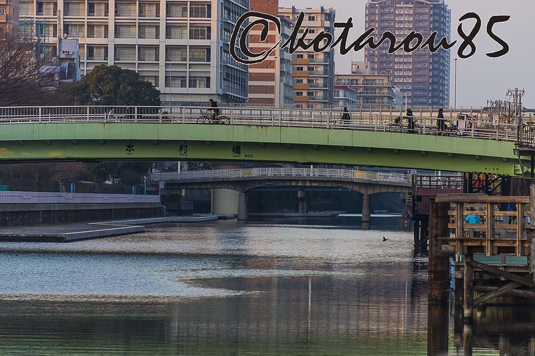 運河のある街で 20180122