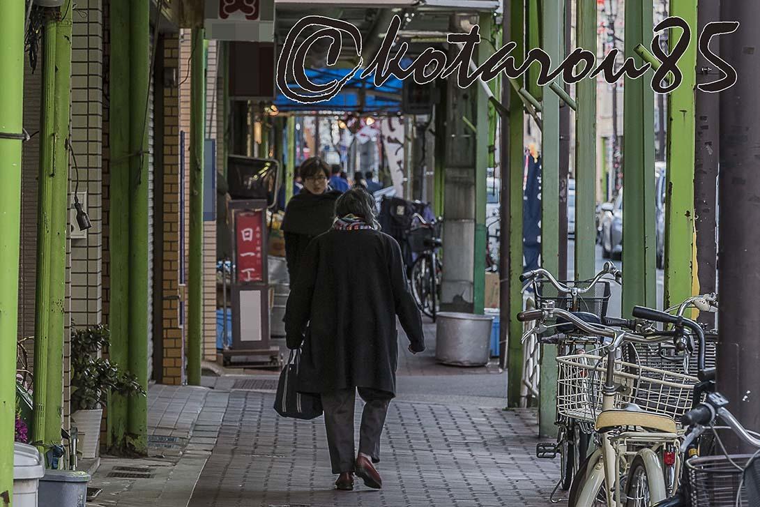 下町の商店街2 20180126