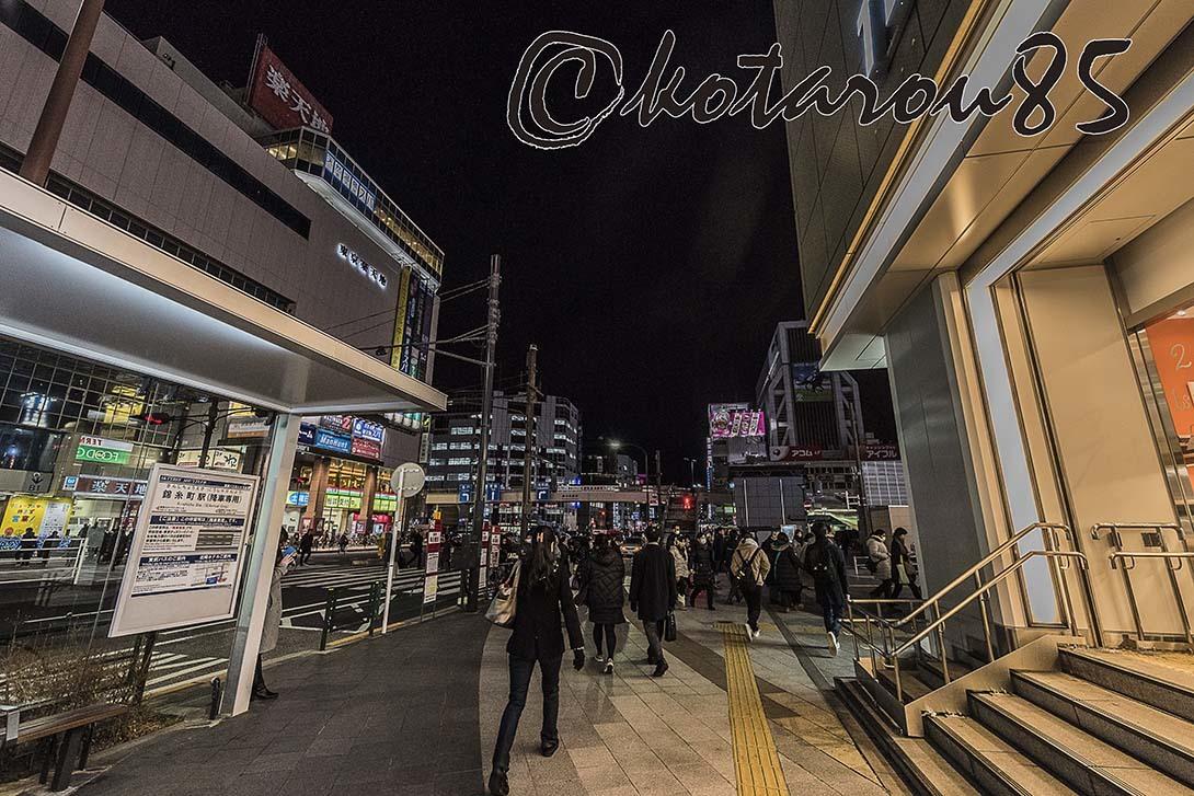 錦糸町夜景3 20180214