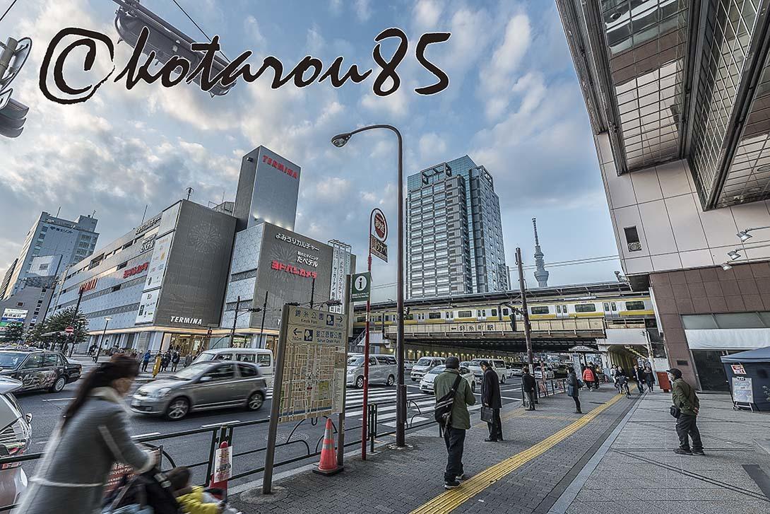 錦糸町駅前 20180224