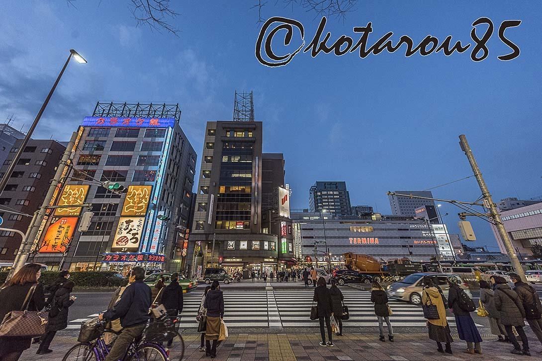 錦糸町駅前の百貨店 20180224