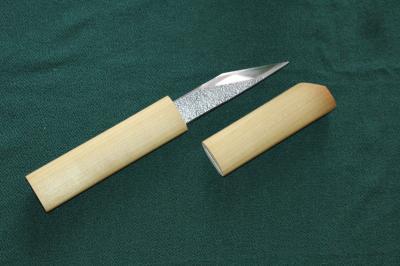 T様 小刀用木製柄と鞘1