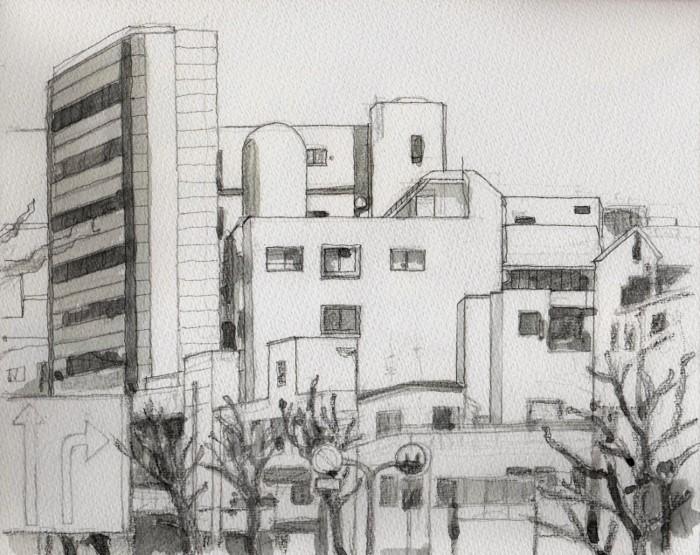 天王寺近郊 グリザイユ (700x555)