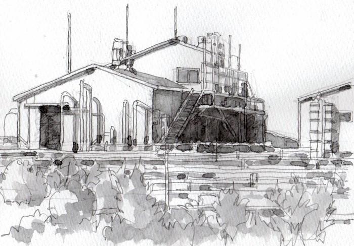 寝屋川の工場 グリザイユ (700x488)