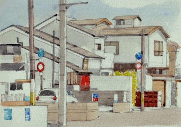 成田町の街角 (700x493)