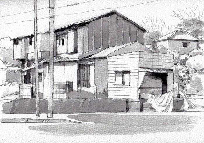 茨木の民家 (700x491)