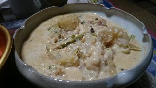 蕪のクリーム煮