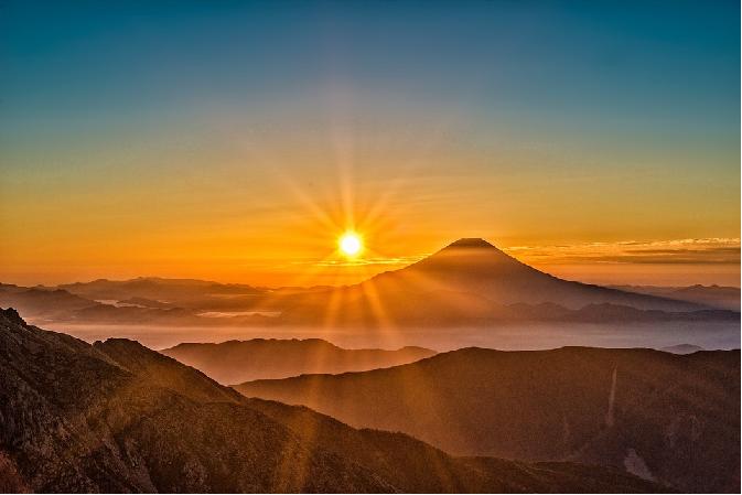 富士山 明るい兆し