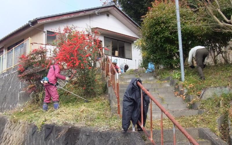 寿楽荘清掃