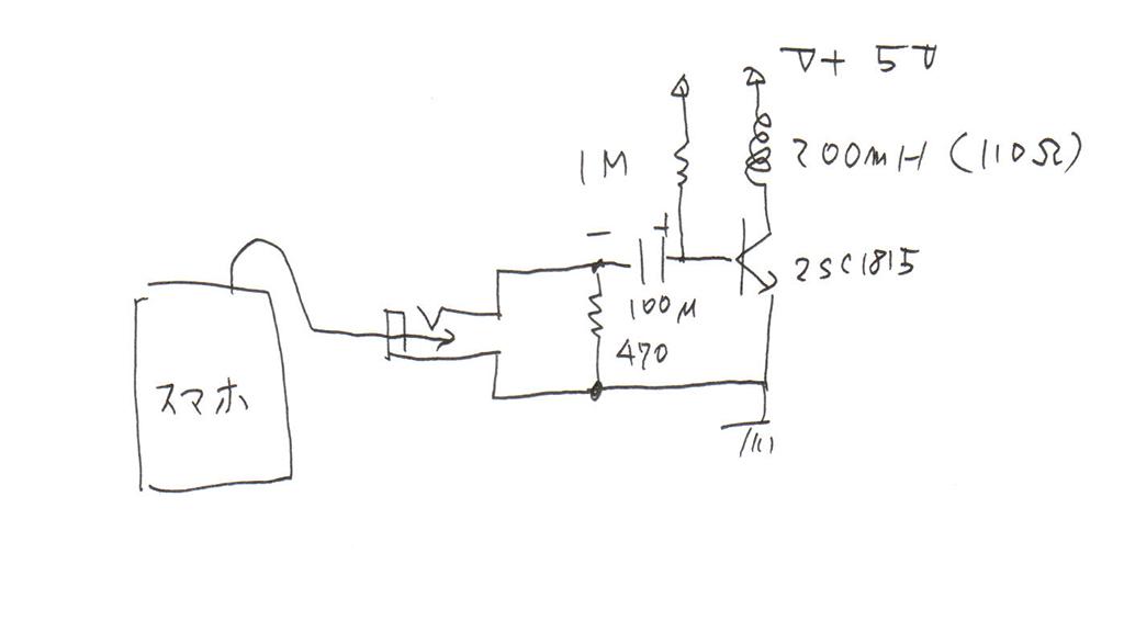スマホで電波時計を合わせる為の補助装置