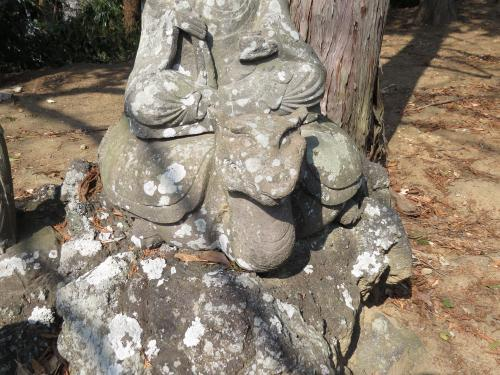 成田山石仏-10