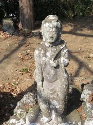 成田山石仏-7