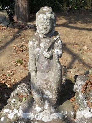 成田山石仏-8
