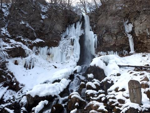 千ヶ滝氷瀑180203