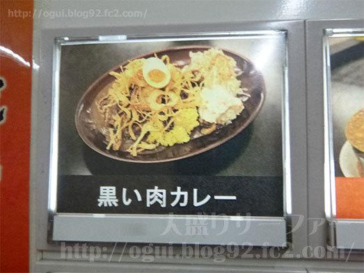 基本メニューの黒い肉カレー034