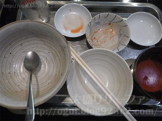 セルフサービスランチラフテ丼の完食085